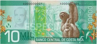Costa Rica Money